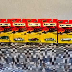 "Matchbox""superfast""toy cars 1995"
